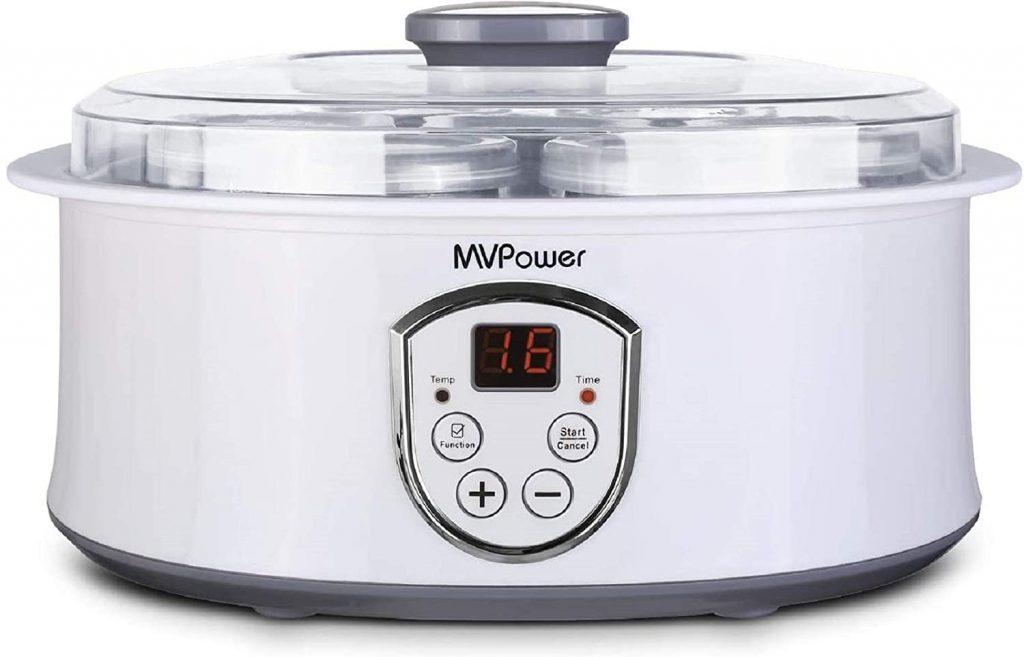 MVPower Yaourtière Électrique Avec Écran LCD