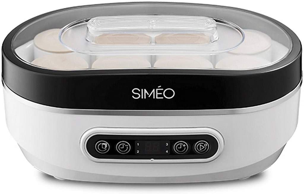 Simeo - yva640 - Yaourtière 8 pots